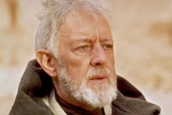 Obi-=Wan Kenobi Alec Guinness Star Wars