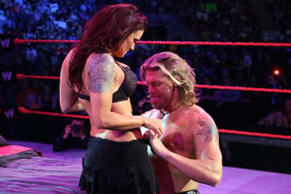 Edge lita live sex celebration pics