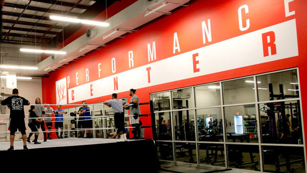 WWE performance center ring