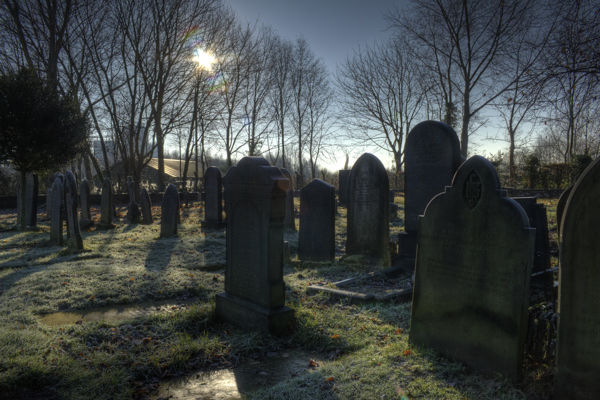 St georges church graveyard