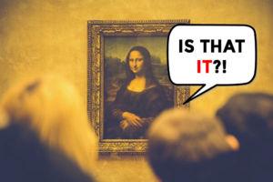Mona Lisa Speech Bubble