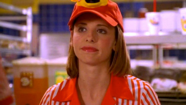 1. What Fast Food Restaurant Did Buffy Start Working At?