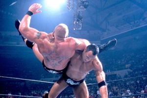 Rock Bottom Brock Lesnar SummerSlam 2002