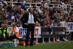 Steve McClaren Newcastle United vs Borussia Monchengladbach St James' Park August 1st 2015