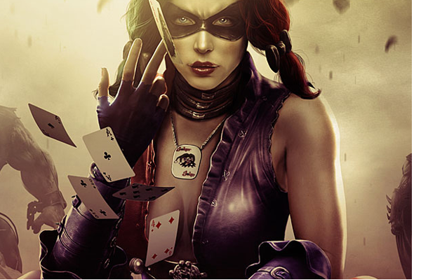 harley quinn injustice