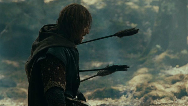 Boromir Death The Lord Of The Rings
