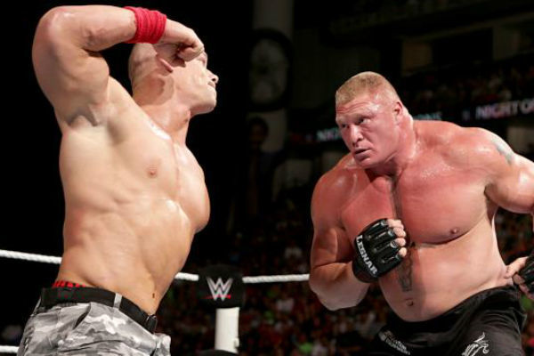 John Cena Brock Lesnar Night Of Champions 2014