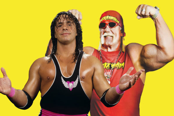 Hulk Hogan, Bret Hart