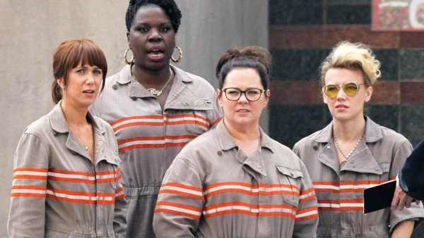 ghostbusters all female