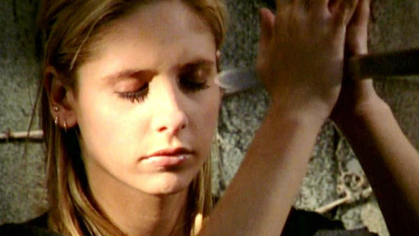 Buffy Becoming Sword