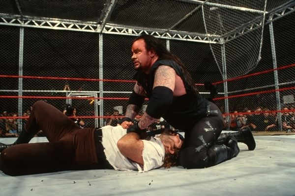 Undertaker Mankind hell in a cell