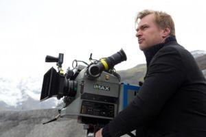 Christopher Nolan shooting Interstellar