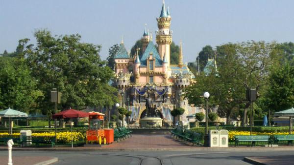 Sleeping Beauty Castle Disneyland