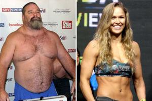 Tank Abbott and Ronda Rousey