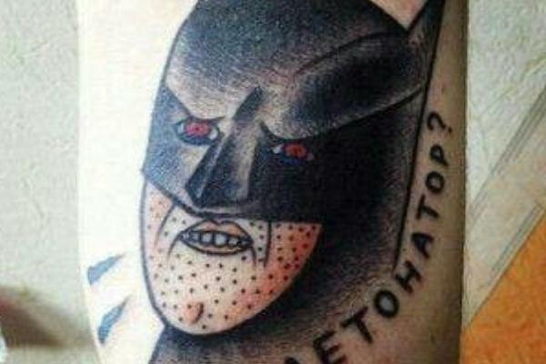 15 Worst Ever Batman Tattoo Fails