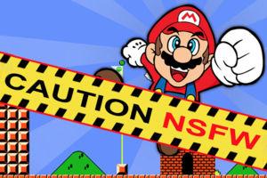 Super Mario Bros NSFW