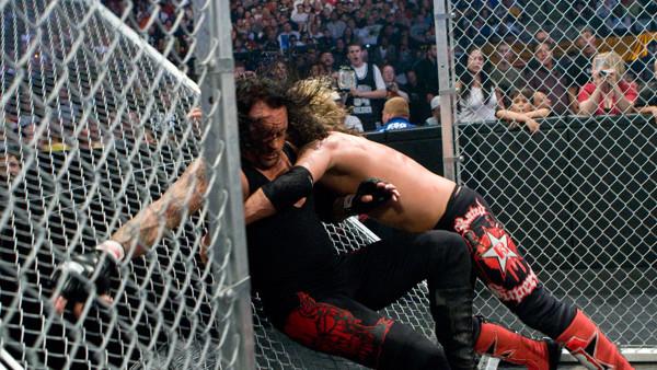 Resultado de imagem para edge vs undertaker summerslam 2008