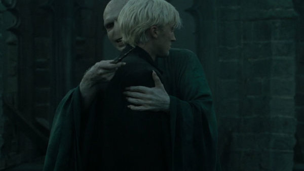 Voldemort Hugging Draco Malfoy Harry Potter