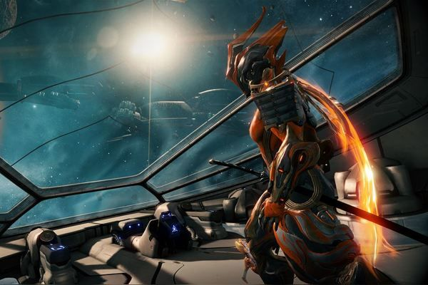 Warframe game