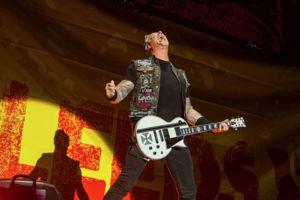 Metallica James Hetfield Leeds Festival