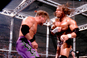 Triple H Chris Jericho Judgement Day 2002 HEll in a Cell