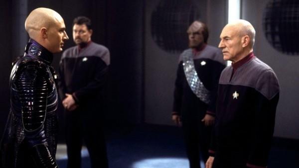 Star Trek Nemesis Tom Hardy Patrick Stewart