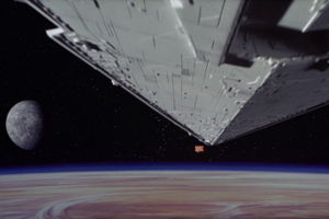 Star Wars Opening Shot