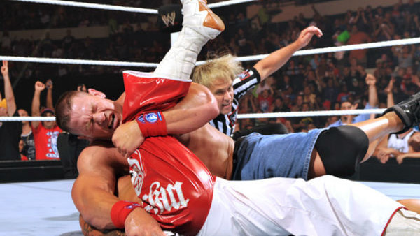 Vince McMahon ECW Champion Shane McMahon Judgement Day 2007