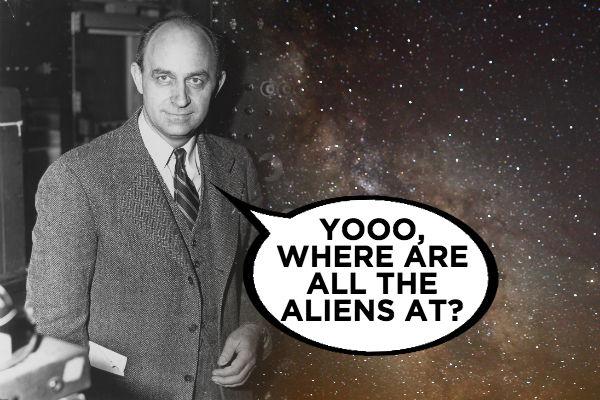 Enrico Fermi Aliens