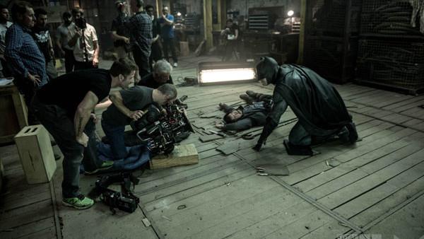 Batman V Superman On Set