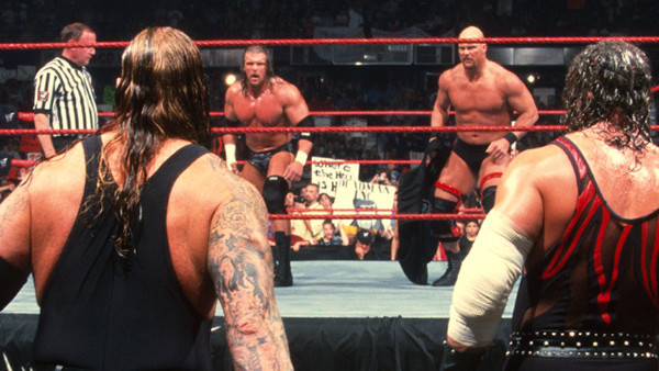 Two Man Power Trip Steve Austin Triple H Undertaker