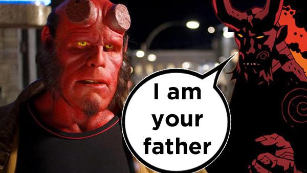 Hellboy Dad
