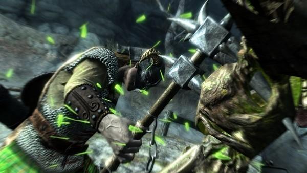 Skyrim combat