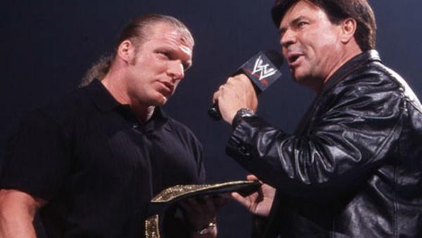 Triple H Eric Bischoff World Heavyweight Championship Award