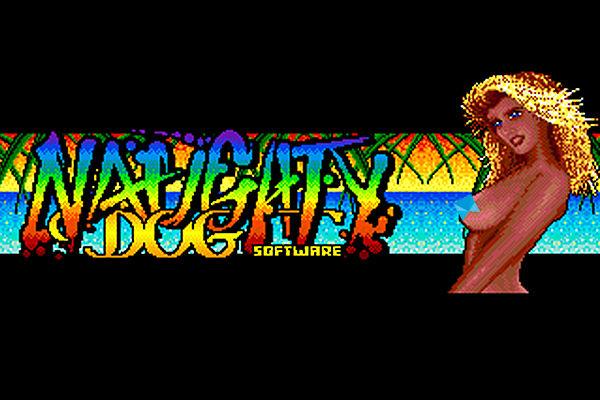 Naughty Dog old logo