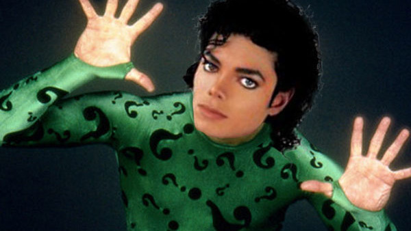 Michael Jackson The Riddler