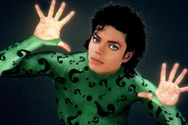 Michael Jackson The Riddler