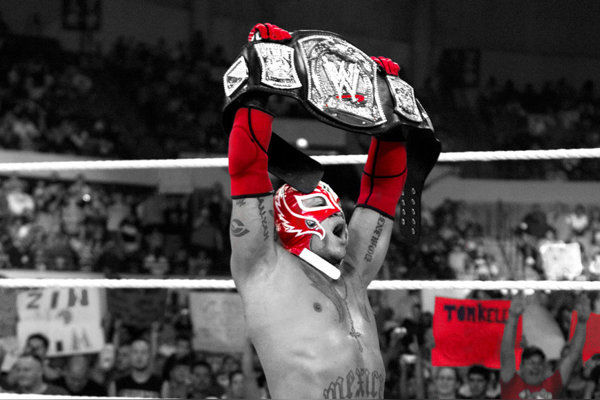 Rey Mysterio WWE Title