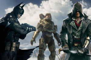 batman halo assassin's creed
