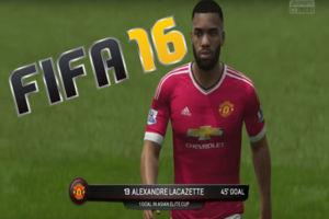 FIFA 16 Man United Career Mode