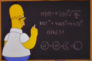 Simpsons Maths