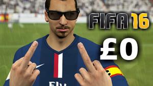 Zlatan Ibrahimovic FIFA 16