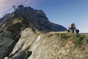 GTA V trevor mountain chiliad
