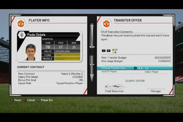 fifa 17 career mode how to sell players