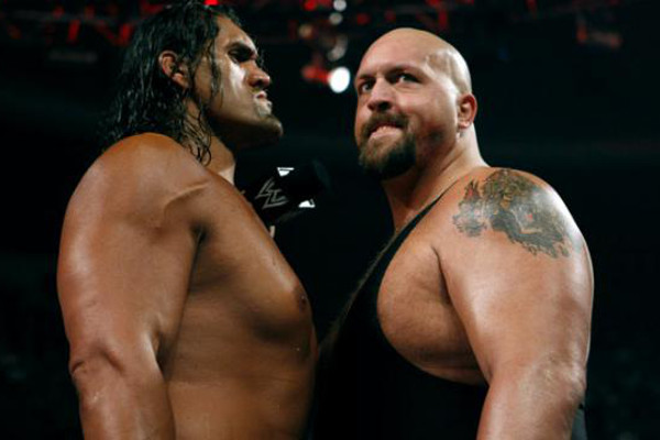 11 things wwe wants you to forget about the great khali page 3 him and the big show arent best buddies voltagebd Images