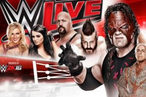 WWE Live Poster