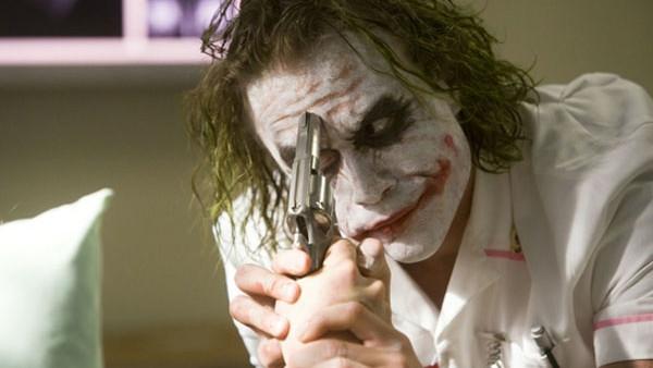 The Dark Knight Joker Gun