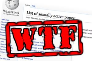 Wikipedia WTF
