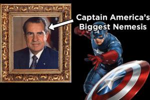 Captain America Nixon