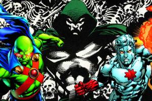 Martian Manhunter Spectre Captain Atom